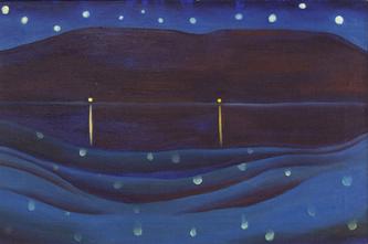 Starlight Night Lake George, 1922