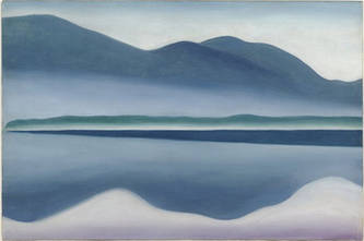 Lake George Reflection Seascape, 1922