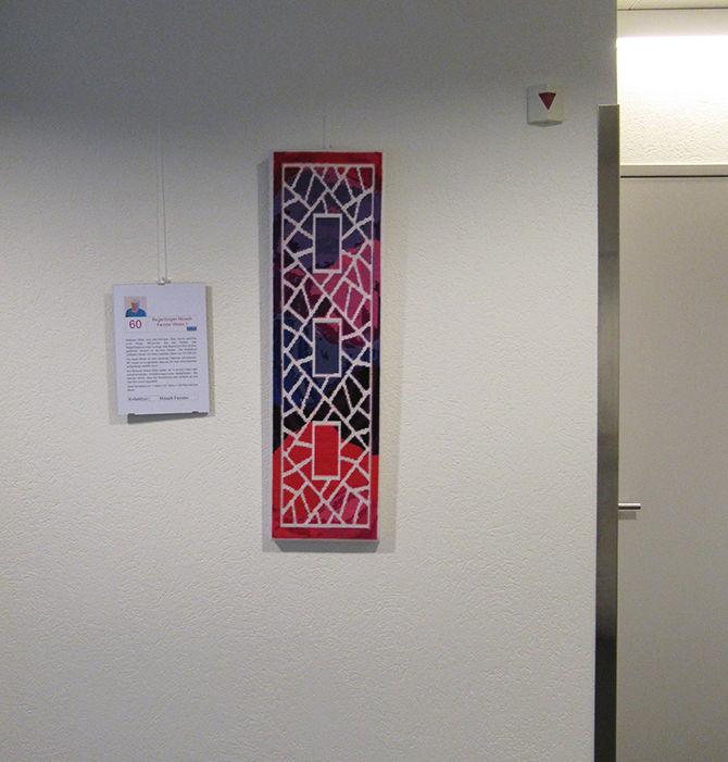 Regenbogen Mosaik Fenster Weiss 1
