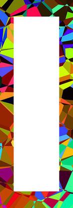 Spiegelrahmen Glasmosaik