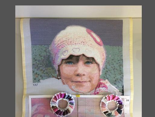 Gobelin stickbilder Halber-Kreuzstich nach Foto. Alles ist möglich!