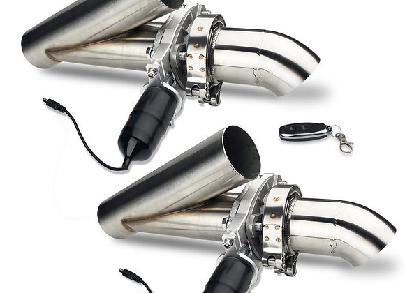Electric exhaust cutouts