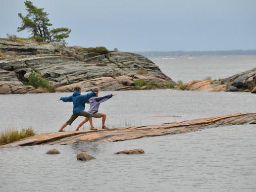 Sea kayaking adventures.