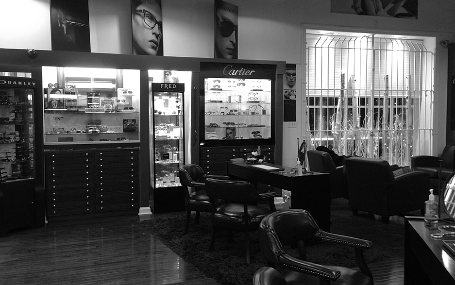 Inside Of Michael Allen Opticians