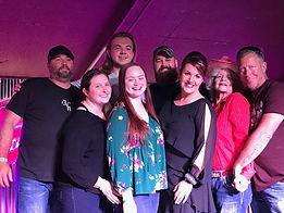 Kelly, Shae, Dustin, Brenna, Trevor, Rac