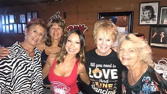 Heather with Lynn, Debbie, Paulette & Ja