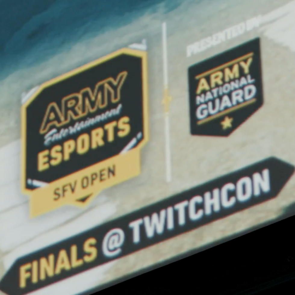ARMY NATIONAL GUARD eSPORTS PROMO