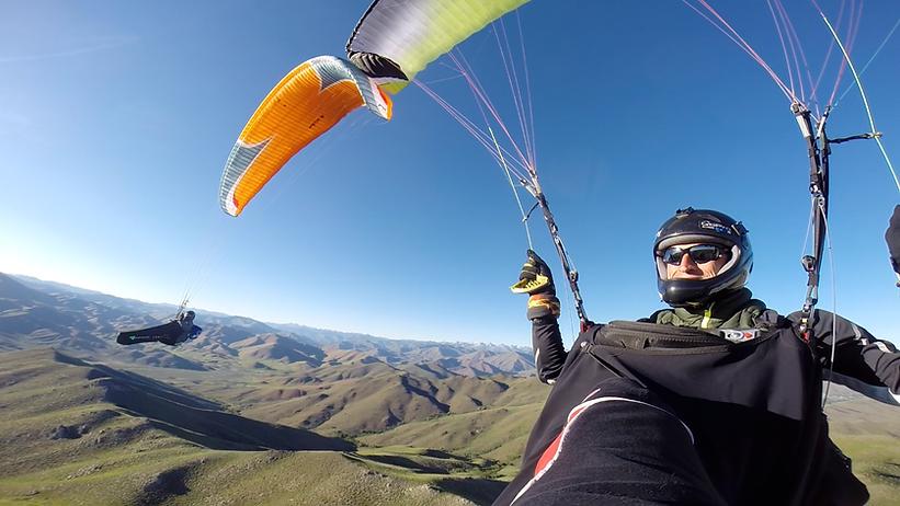 Free-Flight in Sun Valley Idaho