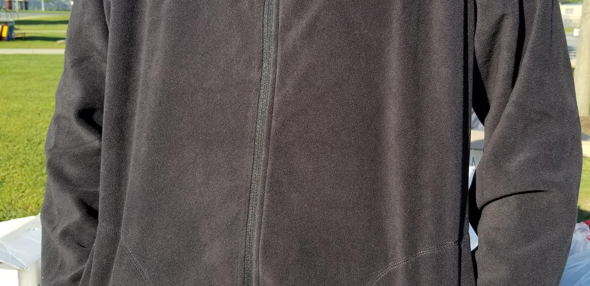 Black Zip-up Fleece