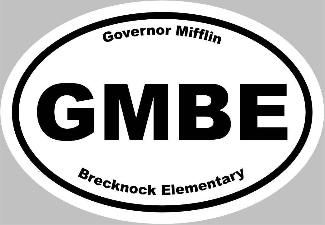 Brecknock Car Magnet