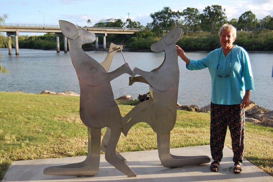 Kangaroos with Rosemary