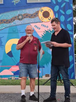 Rick Bichsel of the Boyne Island Lions Club