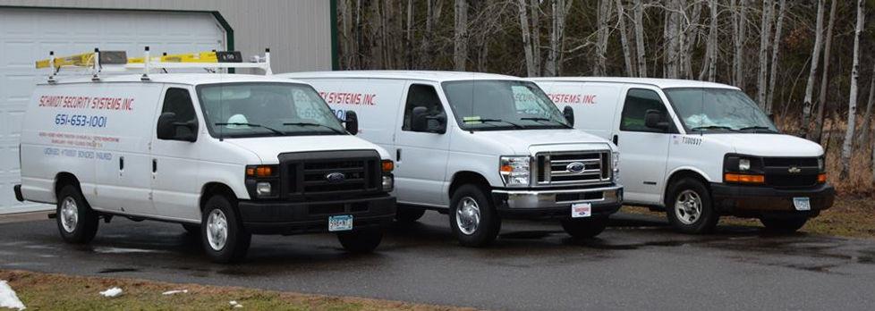 burglar alarm security van system