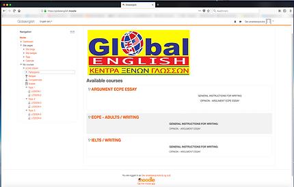 Moodle Globalenglish.gr