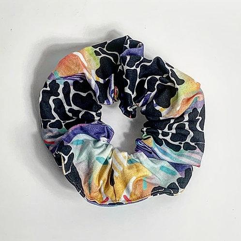 100% Cotton Scrunchie- Pebble Party Design