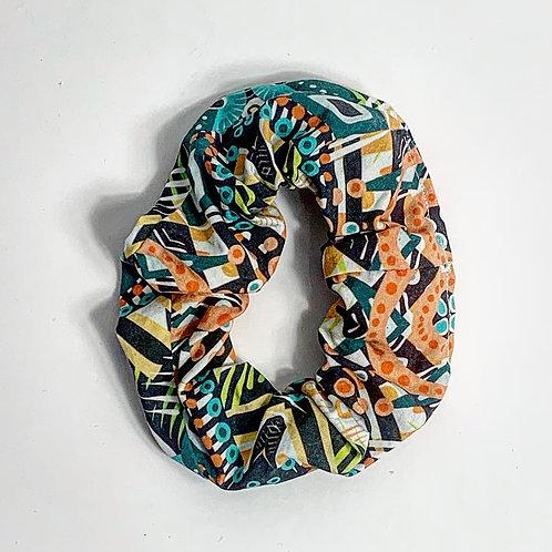 100 % Cotton Scrunchie- Nola Design