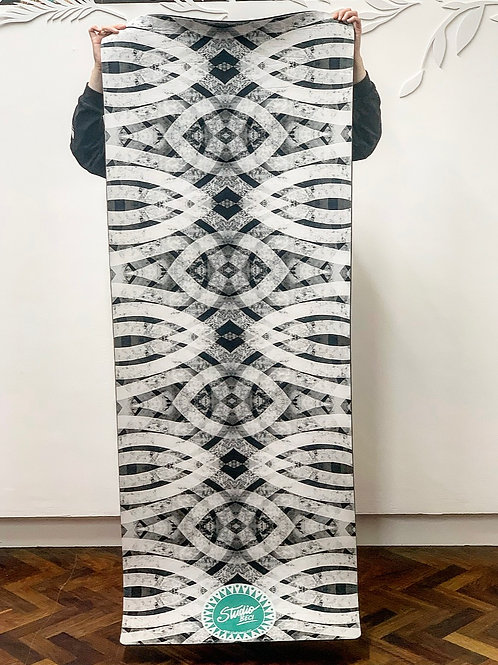 Unique Yoga Mat Made out of Recycled Bottles- Suede Feel