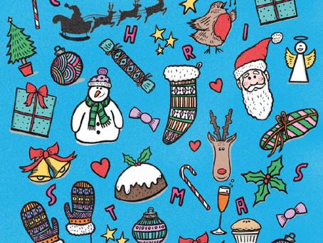 Age UK Sutton Christmas Card Designs