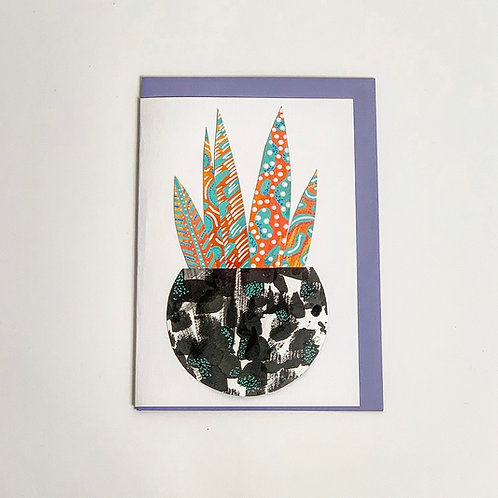 Hand Made Collage Greeting Cards A5 Size