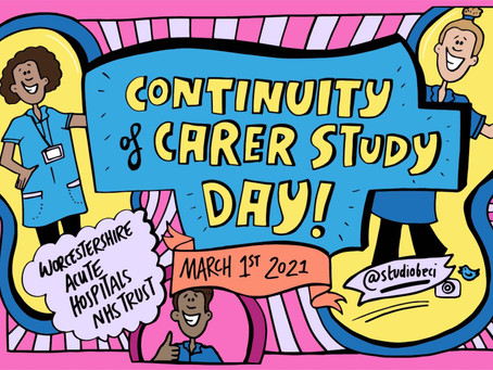Continuity of Carer Study Day - Live Illustration of a Virtual Workshop for Worcestershire NHS