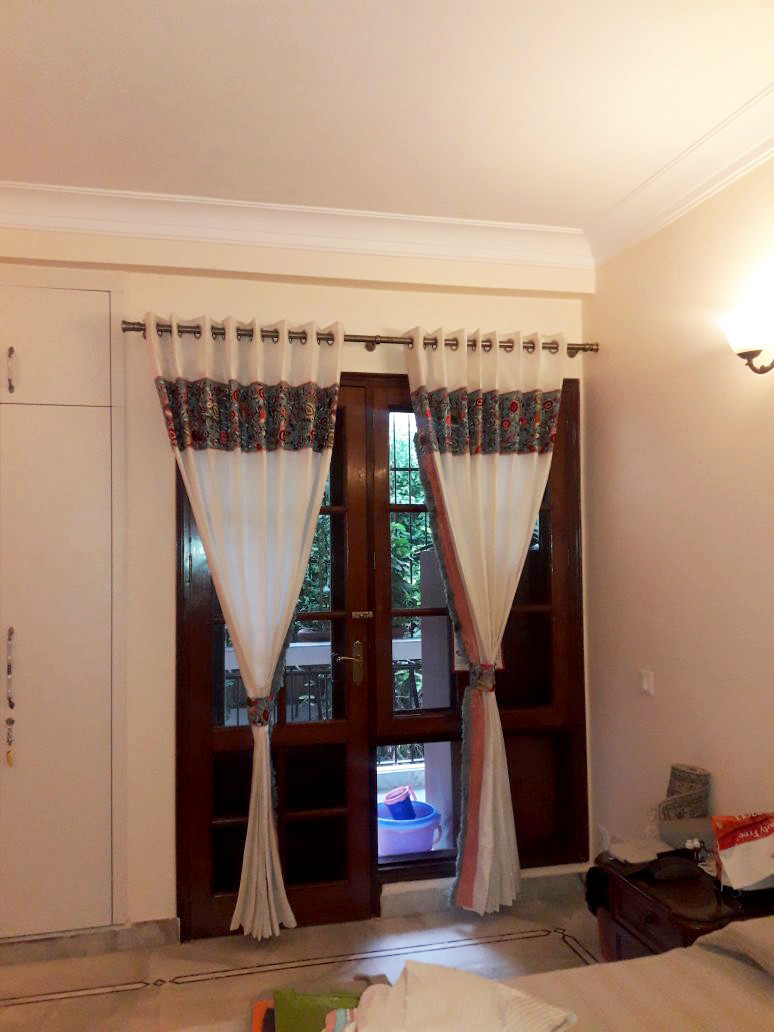 Parsi embroidery curtains -1