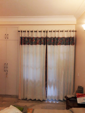 Parsi embroidery curtains -2