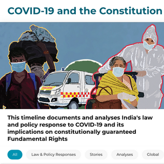 Covid 19 and the Constitution