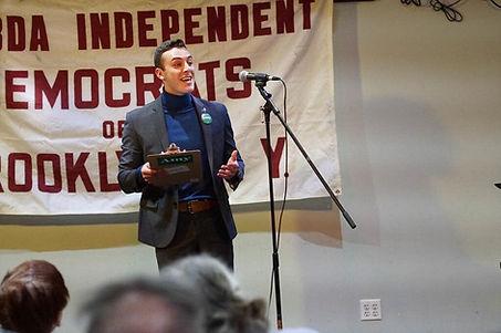 Taylor Shubert Amy Klobuchar LAMBDA Democrats Brooklyn