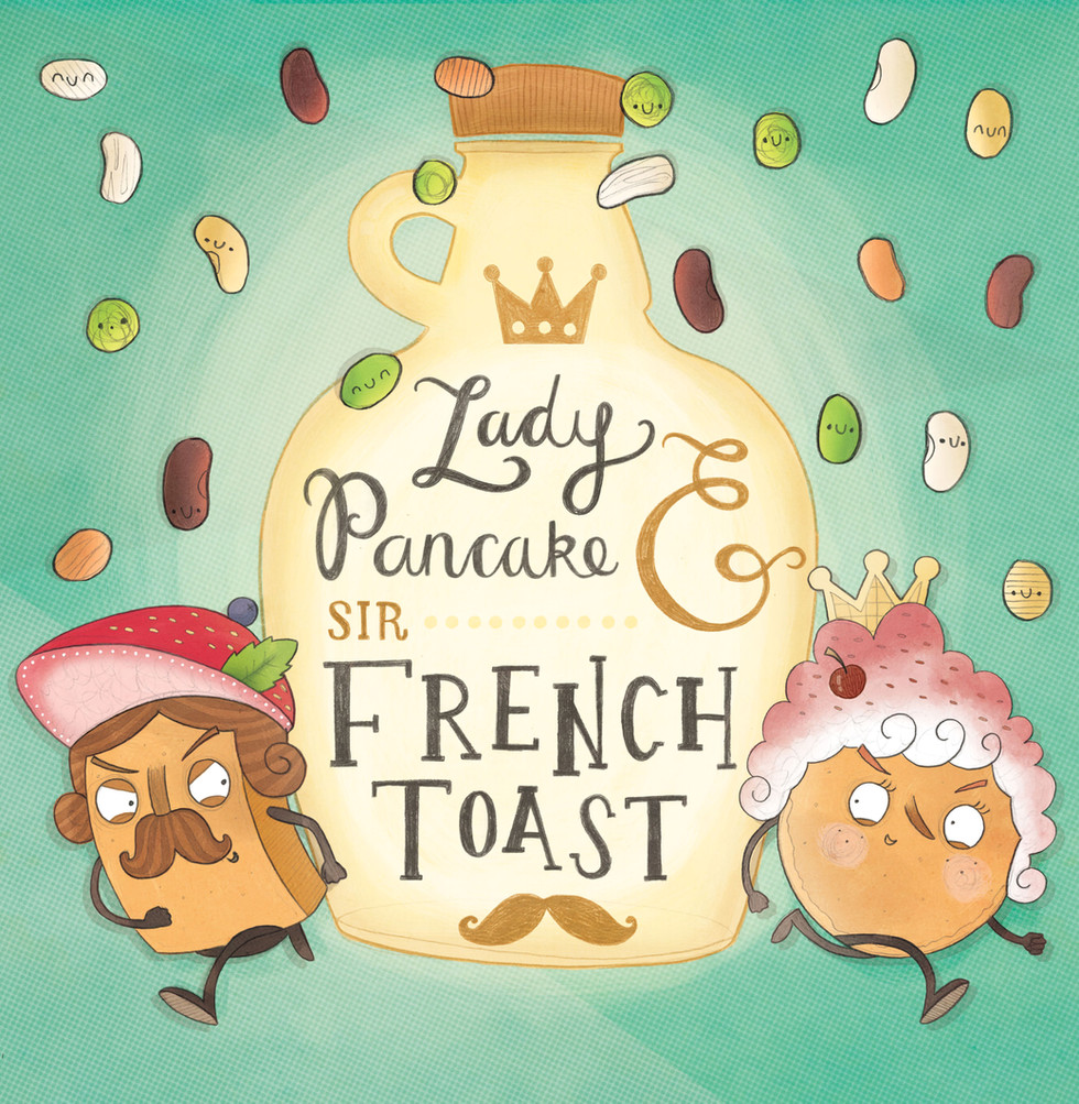 Lady Pancake and Sir French Toast