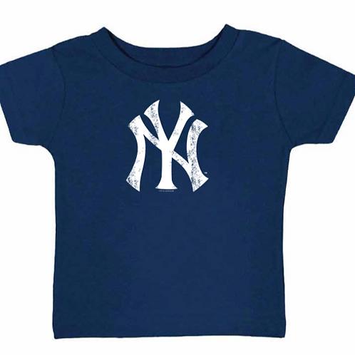 New York Yankees Distressed Logo Toddler T-Shirt