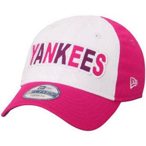 New York Yankees New Era Toddler Cutest Fan Adjustable Hat-Pink