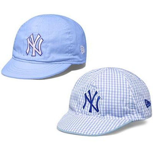 New York Yankees Infant Reverse Gingham 9TWENTY Adjustable Cap by New Era
