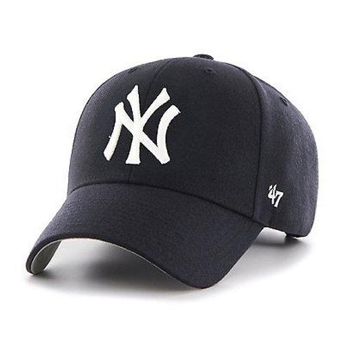 New York Yankees '47 Brand Navy MVP Adjustable Hat