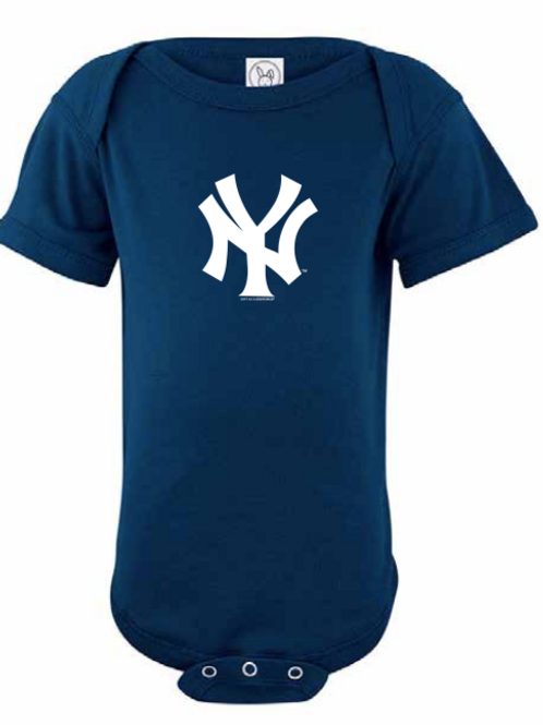 New York Yankees Navy Classic Infant Creeper