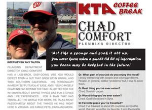 KTA COFFEE BREAK - Chad Comfort Q & A