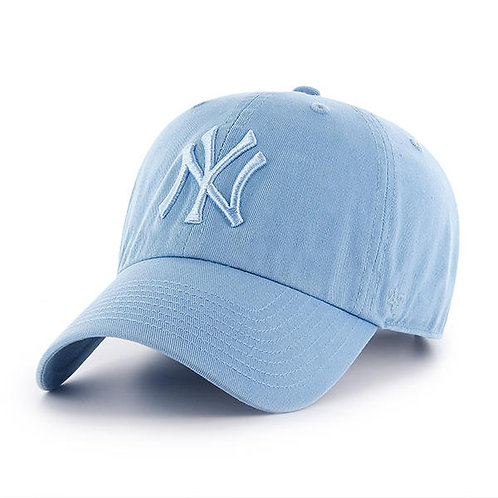 New York Yankees '47 Brand Columbia Blue Cleanup Adjustable Hat