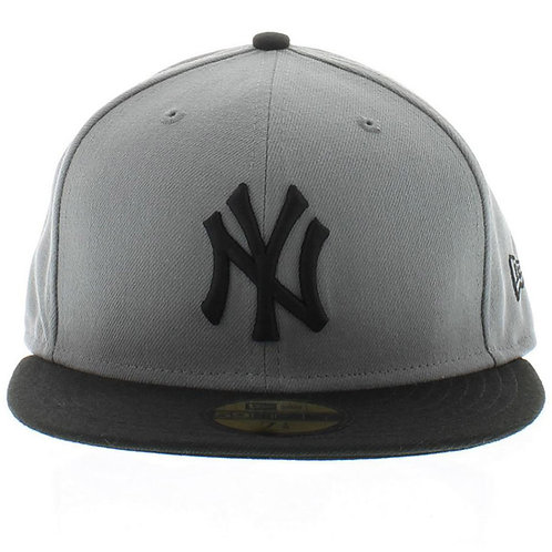 New York Yankees New Era Graphite/Black 59fifty Fitted Hat