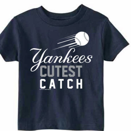 New York Yankees Cutest Catch Toddler T-Shirt