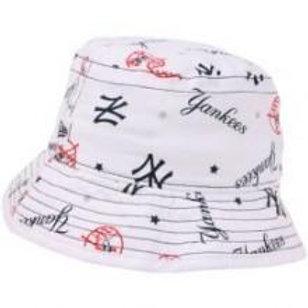 New York Yankees New Era All Over Print Infant Bucket Hat