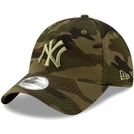 New Era New York Yankees Camo Tonal Camo Core Classic 9TWENTY Adjustable Hat