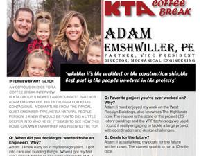 KTA COFFEE BREAK - Adam Emshwiller, PE Q&A