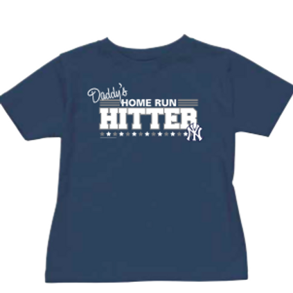 New York Yankees Daddy's Homerun Hitter Toddler T-Shirt