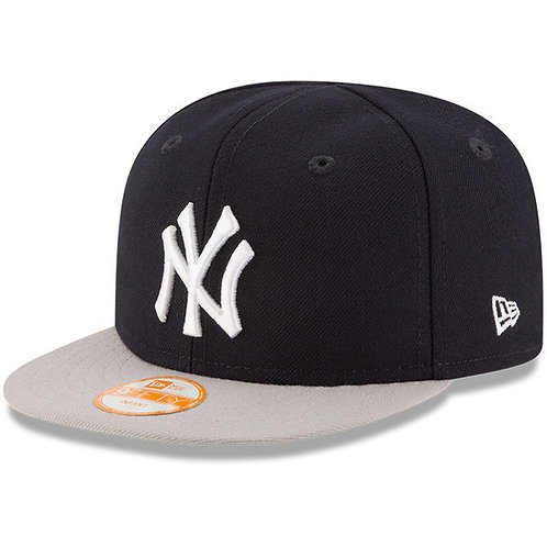 New York Yankees New Era Infant My First 9FIFTY Snapback Adjustable Hat - Navy/G