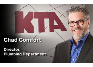 Chad Comfort promoted to Plumbing Department Director