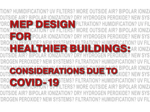 Considerations due to COVID-19