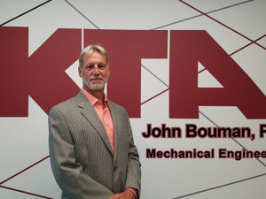 Welcome to KTA, John Bouman, PE
