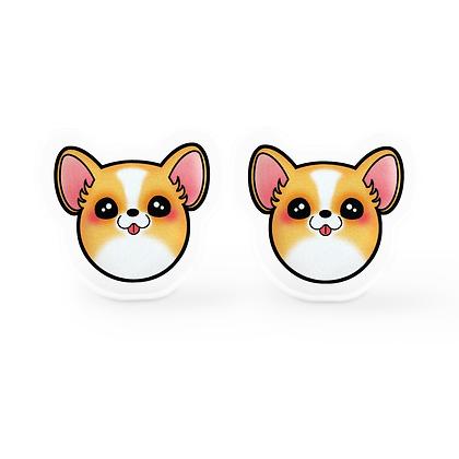 Corgi Earrings