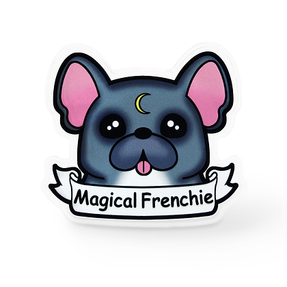 Magical Frenchie Pin