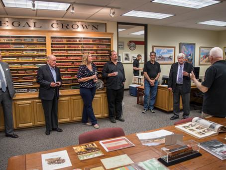 LARHF hosts California State Railroad Museum Foundation directors