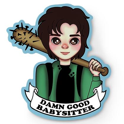 Babysitter Steve Sticker